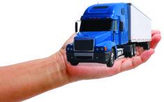Los camioneros pueden verificar el peso de su carga a través de su Smartphone.