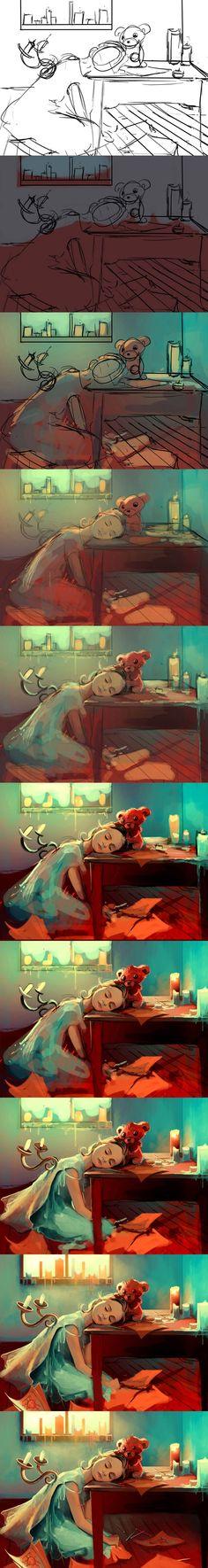 "Aquasixio ""when she was six"" workflow"