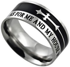 We Will Serve The Lord SS Christian Ring