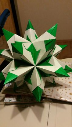 Bascetta 15*15cm bicolor grün/weiß