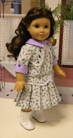 Sunday Stroll- dropwaist dress and bloomers $89.00, via Etsy.