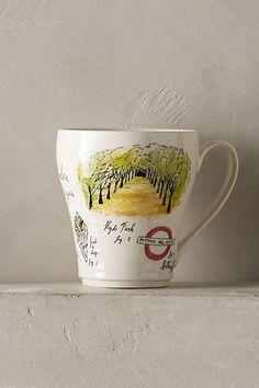 City Vignette Mug - anthropologie.com I love London mug @alexmaeve