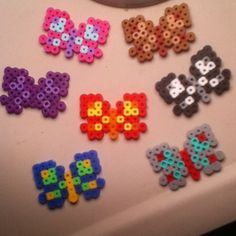 Butterflies perler beads by bead_like_mony
