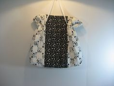 Musical Cinch Tote Black and White 02 by SallySmiles on Etsy