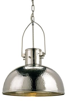 Nickel One Light Syllabus Pendant Currey Company Bell/Urn Pendant Lighting Ceiling Lightin Farmhouse Pendant Lighting, Cottage Lighting, Kitchen Pendant Lighting, Kitchen Pendants, Pendant Lights, Industrial Lighting, Ceiling Pendant, Traditional Pendant Lighting, Modern Pendant Light
