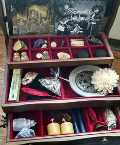 The supreme witchcraft altar kit. Wiccan altar set great for beginning witches of all sorts. by ThymeandCO on Etsy https://www.etsy.com/listing/234194807/the-supreme-witchcraft-altar-kit-wiccan