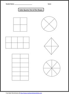 math worksheet : 1000 images about fractions on pinterest  fractions first grade  : Fractions Quarters Worksheets