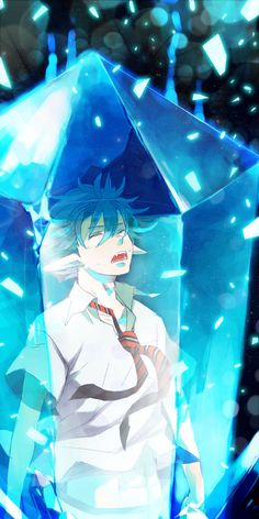 Tags: Anime, Crystal, Ao no Exorcist, Okumura Rin, Natsunama
