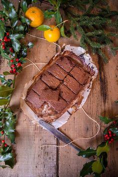 chocolat and orange brownies