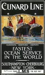 Cunard poster