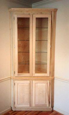 Best Of Built In Corner Cabinet