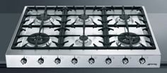 One of the best cooktop from #smeg with 6 sealed burners automatic electronic ignition full width continuous grates LP convertable and many more amazing features...