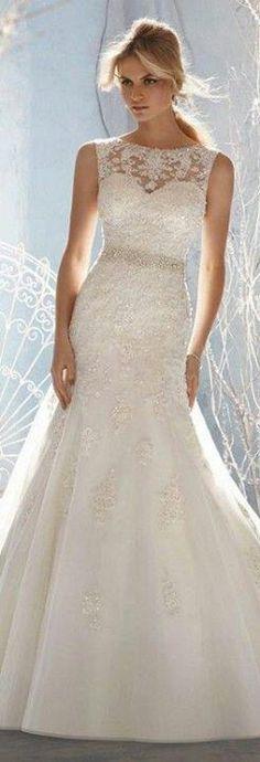 Very simple wedding dress