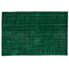 patina area rug in emerald green (by land of nod)