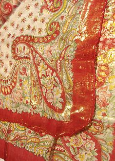 Posh Rouge Shimmering Scarf  $13.50  Shimmering Gold Cotton Tichels (Scarves)  These Large Sized Cotton Tichels (Scarves) are light and comfy. Measures 38 x 38 inches. They are imprinted with elaborate oriental paisley designs.  All have shimmering gold threads throughout and are edged with fringes. Real cool, perfect for summer!