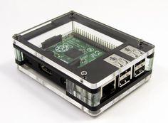 Zebra Deep - Case for Raspberry Pi B+ (Black Ice)