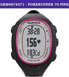 Relógio Esportivo Garmin com Monitor Cardíaco - Rosa Pink - Relógios Esportivos - Esporte e Fitness