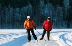 Tour skating at Lake Saimaa, Finland Skating, Finland, Tours, Winter, People, Winter Time, Roller Blading, People Illustration, Ice Skating