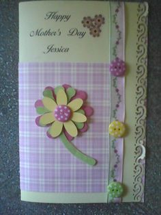Mothers day card for a friend