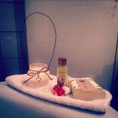 Relax • lanterna homemade • bagno caldo