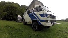 VW T3 Syncro 4WD  #syncro #t3 #hacking https://vimeo.com/45090496