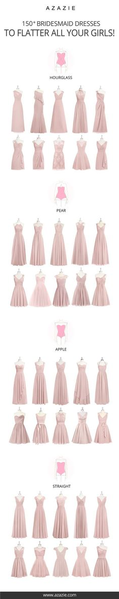 Choose from 100+ styles in 50+ colors that are designed to fit your body shape perfectly! Beauty comes in all different sizes and so do your girls! - party dresses for women, light pink tight dress, dress online shop *ad