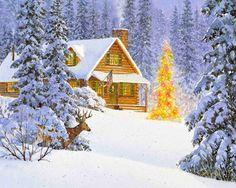 クリスマスの精神 冬 自然 高解像度で壁紙