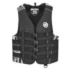 BRP SeaDoo Mens Vibe Nylon 4Buckle Life Jacket Vest PFD SeaDoo XLARGE GREY <3 View the item in details by clicking the VISIT button