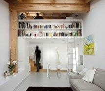 Inspiring picture apartament, book, couch, architecture, small places. Resolution: 736x662. Find the picture to your taste!