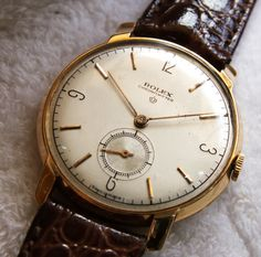 Vintage Rolex ... John might like for his new room to have this feel ...