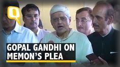 Gopalkrishna Gandhi Defends His Mercy Plea For Yakub Memon - The Quint
