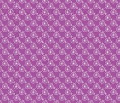 Big Wheel Plum fabric by littlerhodydesign on Spoonflower - custom fabric