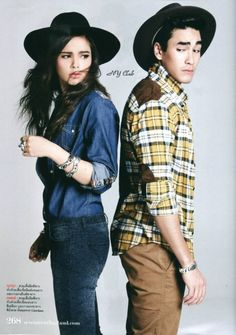 yadech <3 Young Fashion, Women's Fashion, Sweet Couple, Celebrity Couples, My People, Bearded Men, Traditional Dresses, Thailand, Idol