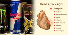 What Your Heart Experiences – Even If You Can't Feel It – When You Drink Energy Drinks This father died of a heart attack from drinking a Red Bull. Red Bull ingredients are dangerous for your heart, stop drinking it immediately. Red Bull, Effects Of Energy Drinks, Signs Of Heart Attack, Heart Failure Treatment, Upper Back Pain, How To Relieve Headaches, Stop Drinking, Old Recipes, Easy Recipes