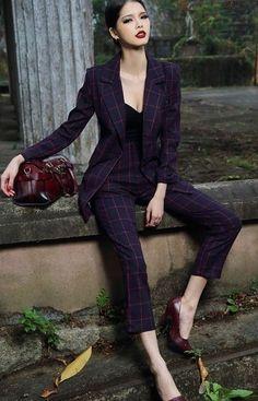 50 Fashionista Fashion Looks That Will Make You Look Cool - Luxe Fashion New Trends - Fashion for JoJo Classy Outfits, Casual Outfits, Fashion Outfits, Fashion Tips, Business Attire, Business Fashion, Mode Tartan, Moda Fashion, Womens Fashion