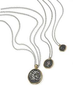 1884 Collection: coin necklaces