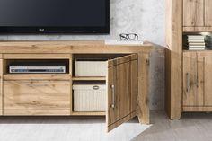 STROMBERG - Obývačková zostava, vyhotovenie: Dub wotan Cabinet, Storage, Furniture, Home Decor, Clothes Stand, Purse Storage, Decoration Home, Room Decor, Closet