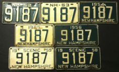 50 Best Vintage License Plates images in 2019 | Car license plates