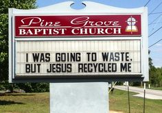 Weekly Wrap and Church Signs of the Week | The Exchange | A Blog by Ed Stetzer