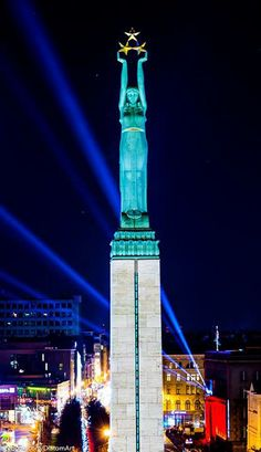 The Monument of Freedom. Riga