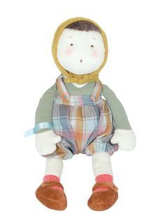 Show details for Moulin Roty Les Coquettes Baby Boy Rag Doll