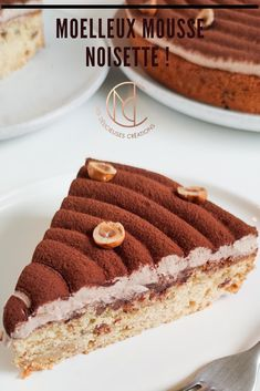 Discover recipes, home ideas, style inspiration and other ideas to try. Vegan Breakfast Recipes, Vegan Recipes Easy, Sweet Recipes, Torte Nutella, Easy Desserts, Dessert Recipes, Bon Dessert, Mini Dessert Cups, Dessert Simple