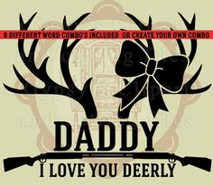 Hunting SVG, Deer SVG, Daddy Daughter, Fathers Day  Baby Onsie T Shirt, SVG, Vector, ai,png, eps, png, dxf, Template,Overlays, Silhouettes - https://www.etsy.com/listing/288229385/hunting-svg-deer-svg-daddy-daughter?utm_source=socialpilotco&utm_medium=api&utm_campaign=api  #supplies #digitalcollagesheet  #cuttingmat #cricutmachine #stationary #cricutexploreair #papercrafting #papercraft #cricutexplore #crafts #stationery #cricutforsale  #kraftpaper #cardmaking #etsy #etsysellers…