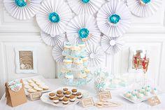 Sweet Table Ideen für die Bridal Shower