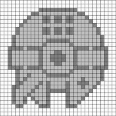 Millenium Falcon Crochet Pattern