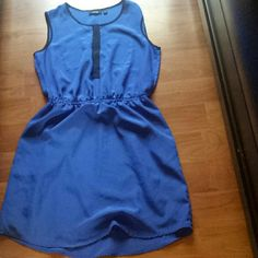 Royal blue lose dress Dress is a little above knee. Worn only once Apt. 9 Dresses Midi