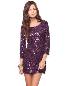 Eggplant club-wear dress.  I'd love to wear this to my friend Kari's 21st in a few weeks <3