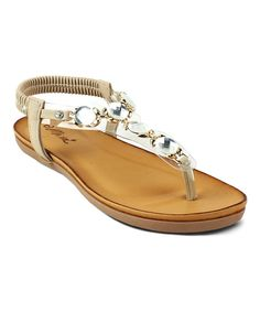 Look at this Apricot Link Berry Sandal on #zulily today!