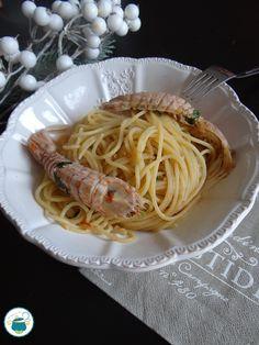 Spaghetti con le cicale risottati