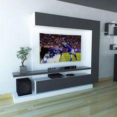 Tv Stand Modern Design, Modern Tv Unit Designs, Living Room Tv Unit Designs, Modern Tv Wall Units, Wall Unit Designs, Living Room Wall Units, Tv Stand Designs, Modern Tv Cabinet, Tv Unit Decor